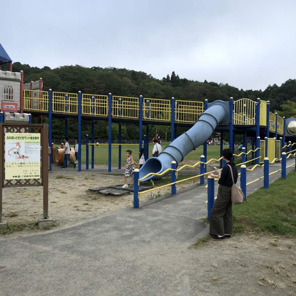 モリリン加瀬沼公園 遊具の写真